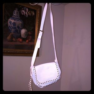 BOGO ITEM Charming Charlie white crossbody purse